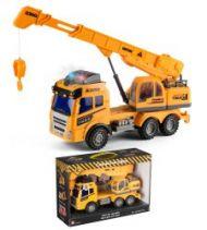 Kran Truck Med Lyd & Lys 28 cm