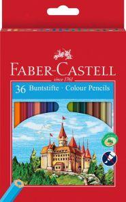 Fargeblyant 36 stk med blyantspisser