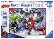 Puslespill 100 Marvel Avengers Ravensburger