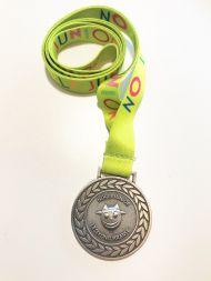 Medaljer Norli Junior Lesekonkurranse 2020: grønn