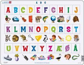 Platepusle Maxi Alfabetet 29 Biter