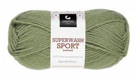 Garn Gjestal Superwash Sport 50g Mosegrønn