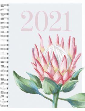 Kalender 2021 Time Trend A5 Dag Blomst