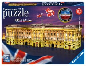 Puslespill 216 3D Buckingham Palace Ravensburger