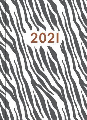 Kalender 2021 Gemini Colore Uke Zebra