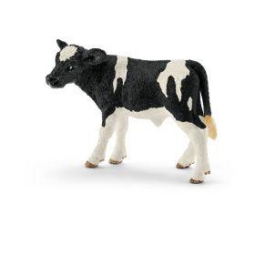 Schleich Kalv, svartflekket 8 cm