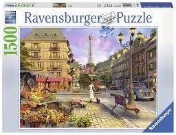 Puslespill 1500 Gamle Paris Ravensburger