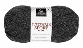 Garn Gjestal Superwash Sport 50g Koks