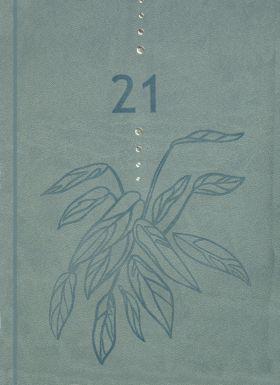 Kalender 2021 Gemini Colore Uke Grønn