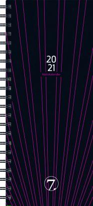 Avtalebok 2021 7.sans Notiskalender Uke Sort