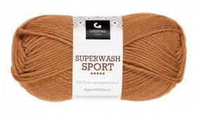 Garn Gjestal Superwash Sport 50g Oker