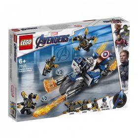 Lego Captain America Outrider-Angrep 76123