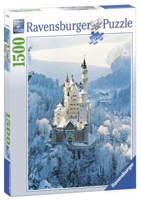 Puslespill 1500 Neuschwanstein Vinterslott Ravensb