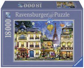 Puslespill 18000 Paris Ravensburger