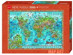 Puslespill 2000 Amazing World Heye