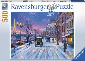 Puslespill 500 Winter In Paris Ravensburger