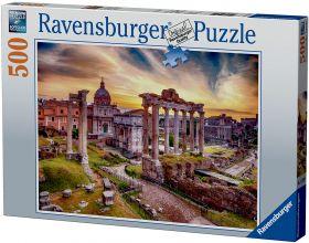 Puslespill 500 Rome In Dusk Ravensburger
