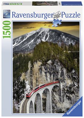 Puslespill 1500 Winter Canyon Ravensburger