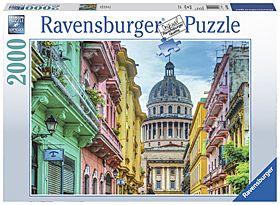 Puslespill 2000 Colorful Cuba Ravensburger