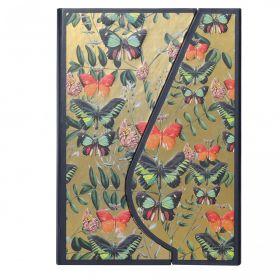 Notatbok Core A6 Linjert Magnetic Butterflies