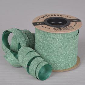 Gavebånd Grønn/Glitter 10mm X 25m