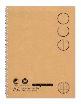 Spiralhefte Norli A4 70g 70bl ruter