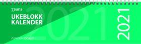 Bordkalender 2021 7.sans Ukeblokk-kalender