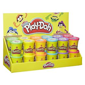 Leke Play-Doh Single Can 24 Ass