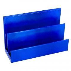 Brevholder Letter Holder Blue Met