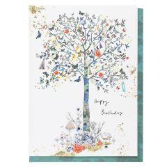 Systemkort Pc Printed Tree Happy Bday