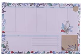 Kalender Into The Woods Weekly Desk Pad