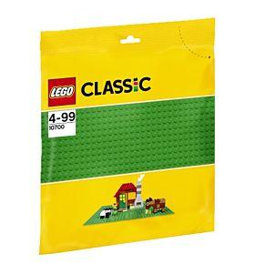 Lego Grønn Basisplate 10700