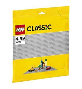 Lego Grå Basisplate 10701