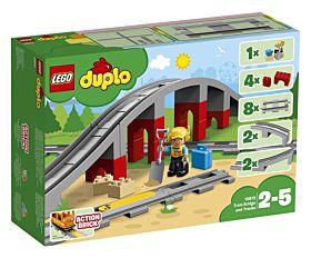Lego Jernbanebro Og Togskinner  10872