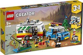 Lego Familiens campingbilferie 31108