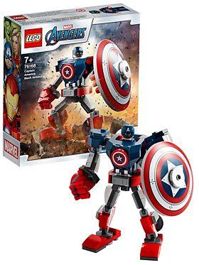 Lego Marvel Captain Americas robotdrakt 76168