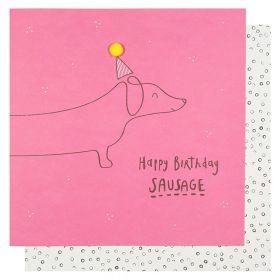 Systemkort PC Happy Birthday Sausage