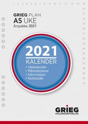 Årspakke 2021 Grieg Plan A5 Uke