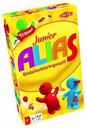 Spill Alias Junior Reisespill