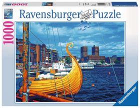 Puslespill 1000 Norge Oslo Ravensburger