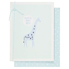 Systemkort PC New Baby Boy Giraffe