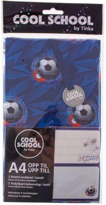 Tekstilbokbind M/4 Merkelapper Fotball 2020