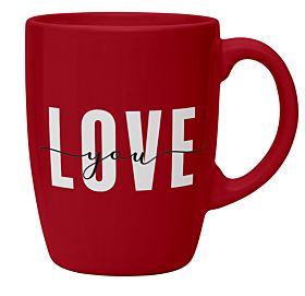 Krus Rødt Valentine Love You