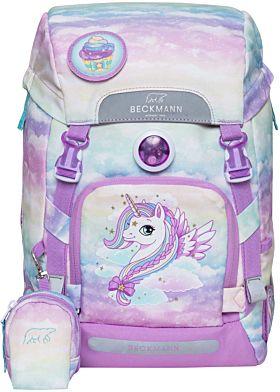 Skolesekk 1.kl Unicorn 22L Beckmann