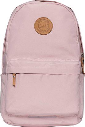 Skolesekk City Soft Pink 28L Beckmann