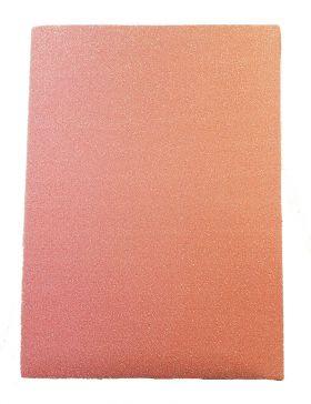 Bokbind Elastisk A4 Rosa Glitter