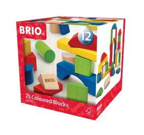 Brio Byggeklosser 25 Farg Tre