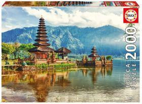 Puslespill 2000 Temple Ulun Danu, Bali, Indo Educa