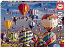 Puslespill 1500 Hot Air Ballons Educa