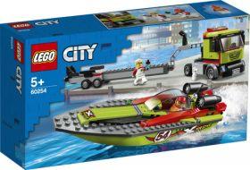 Lego Racerbåt Og Trailer 60254